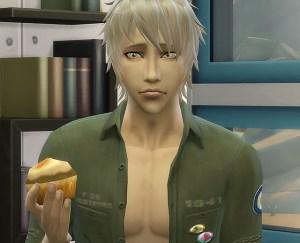 またまたカップケーキ。・・・そんな切ない顔して食うなよ~