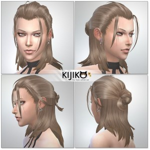 Sims4 hair/ for Female / Feminine Frame シムズ髪型 詳細