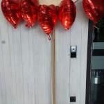 Bella Tarcento Herzluftballons