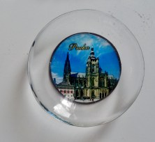 Lindo ímã de Praga, na república Tcheca, presente da amiga Queila