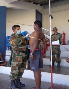 Aro rangapahar army rally bharati mar at dimapur age height chest weight education physical medical also rh kikali