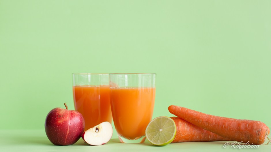 Kikalicious - Carrot&Lime Fresh Juice
