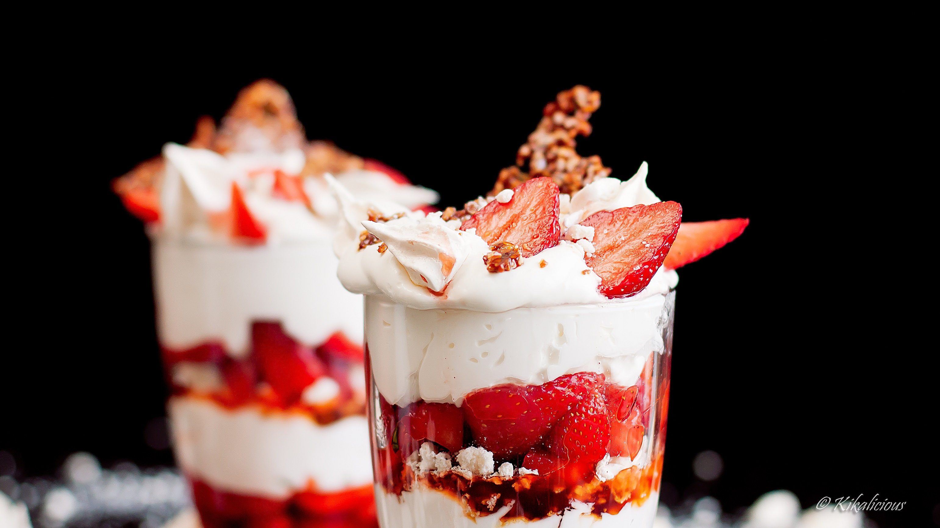 Strawberry Eton Mess for Mother's Day