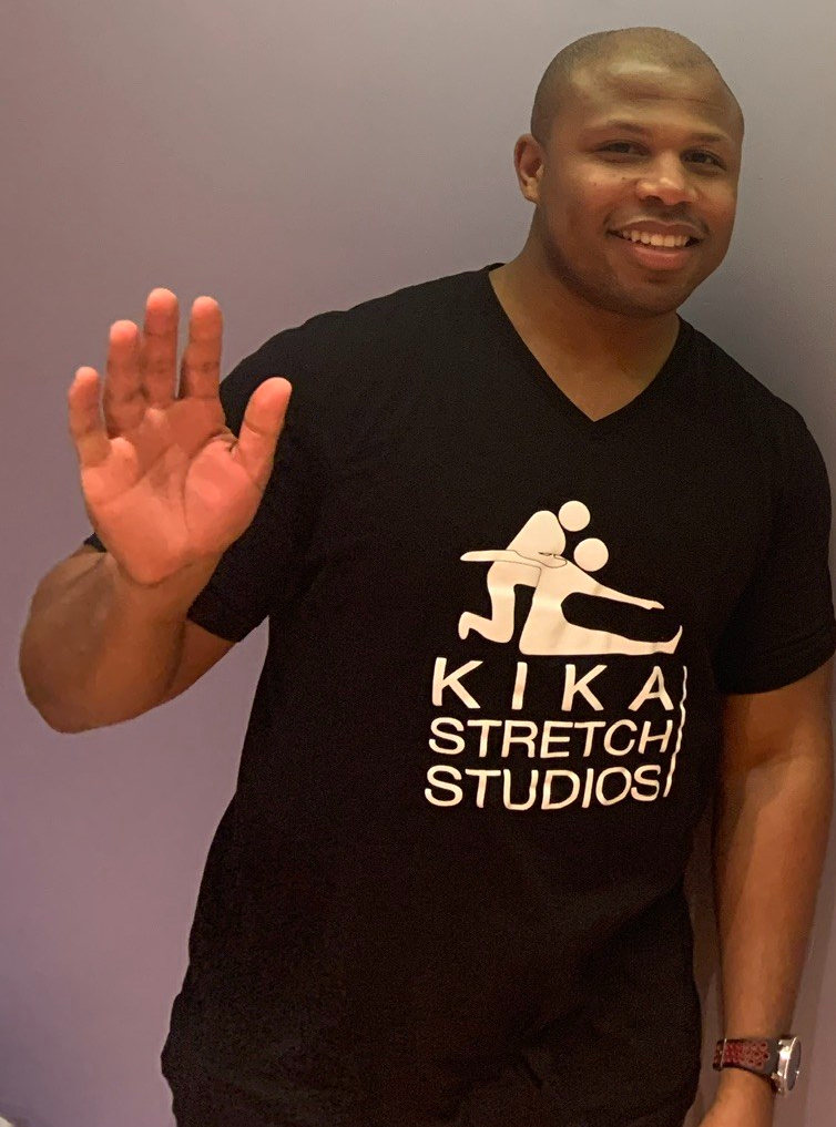 Coach Ben from Short Hills/Summit Kika Stretch Studios