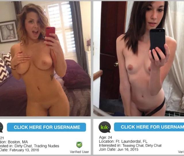 Kik Nudes Users