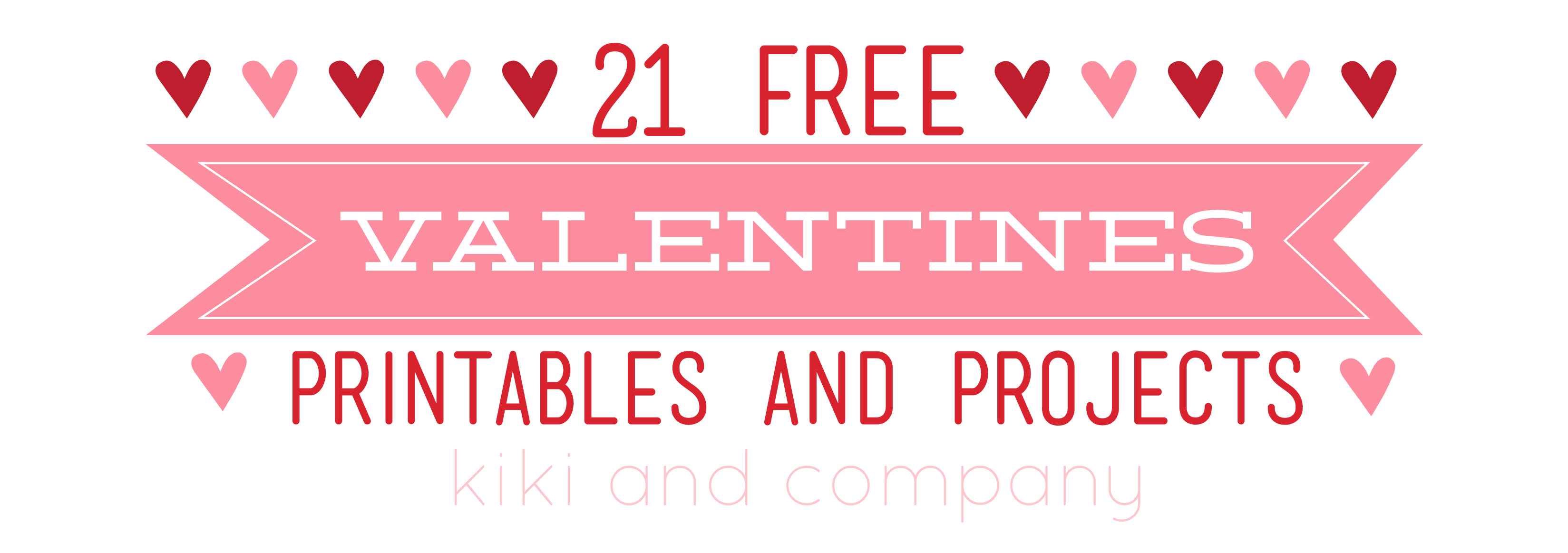 21 Free Valentines Printables And Projects