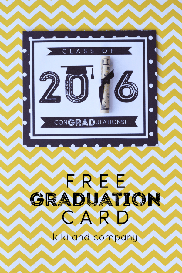Graduation Card from kiki and company