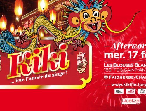 afterwork kiki L'AFTERWORK de KIKI - Kiki fête l'année du singe - Kiki Factory
