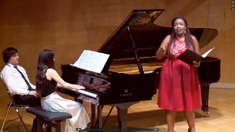 Nohant Festival Chopin - Axelle Fanyo Louise Akili