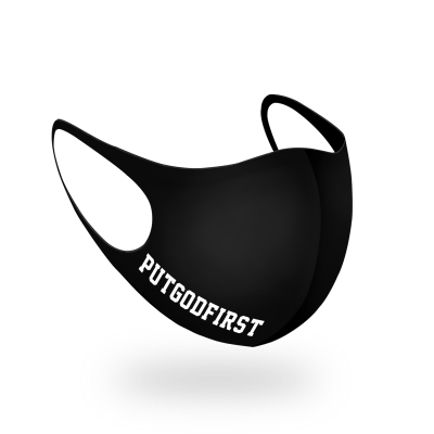 PUT GOD FIRST † Maske – ReUsable