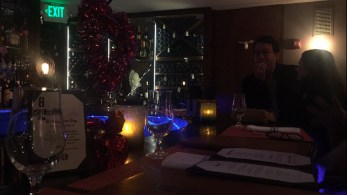 The downstairs bar at B Too