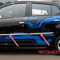 Tank Cover Grand New Avanza Toyota Yaris Trd Sportivo 2017 Indonesia List Body/side Body Moulding Agya/ayla | Kikim Variasi Mobil