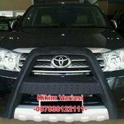 Tanduk Depan Grand New Veloz Jual All Alphard Pelindung Bumper Kikim Variasi Mobil Fortuner 1