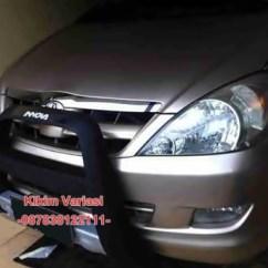 Tanduk Depan Grand New Veloz All Kijang Innova Silver Pelindung Bumper Kikim Variasi Mobil