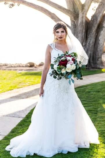 Santa Barbara Wedding Bride