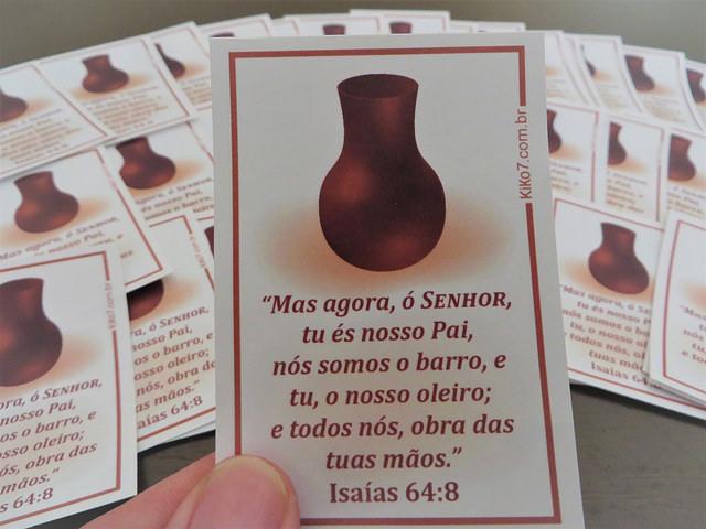 Adesivo Isaías 64:8
