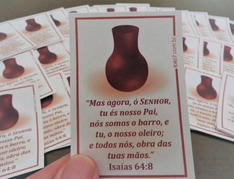 Adesivo Isaías 64:8                                                    4.5/5 (2)