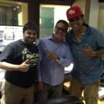 Junto a Ismael Miranda y Pirulo
