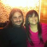Junto a Rosa Karina