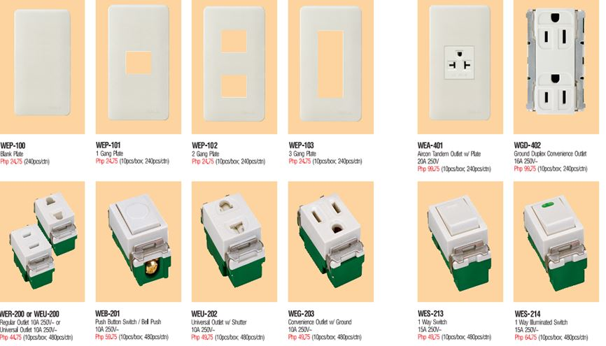 Omni Electrical Switches & Outlet Pricelist Philippines