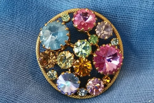 austrian-pastel-rhinestone-brooch