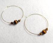 tiger-eye-hoop-earrings
