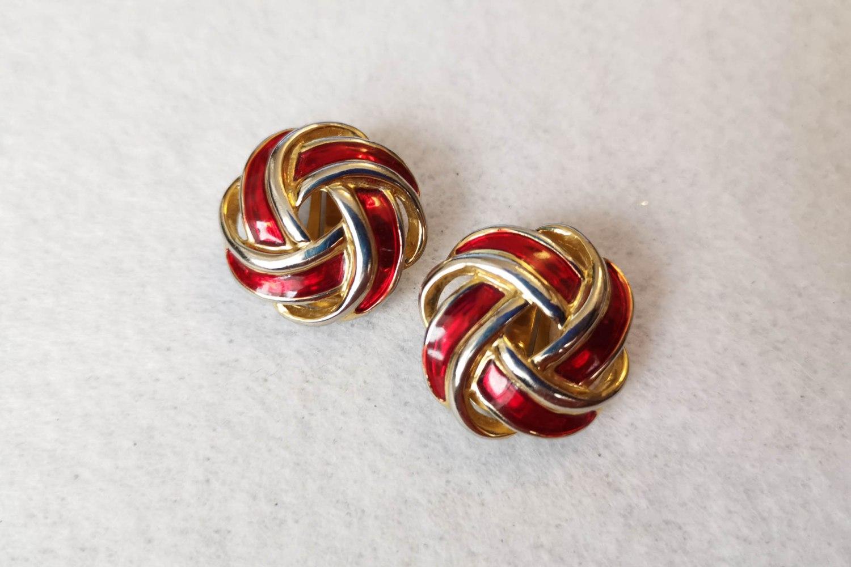 red-knot-earrings