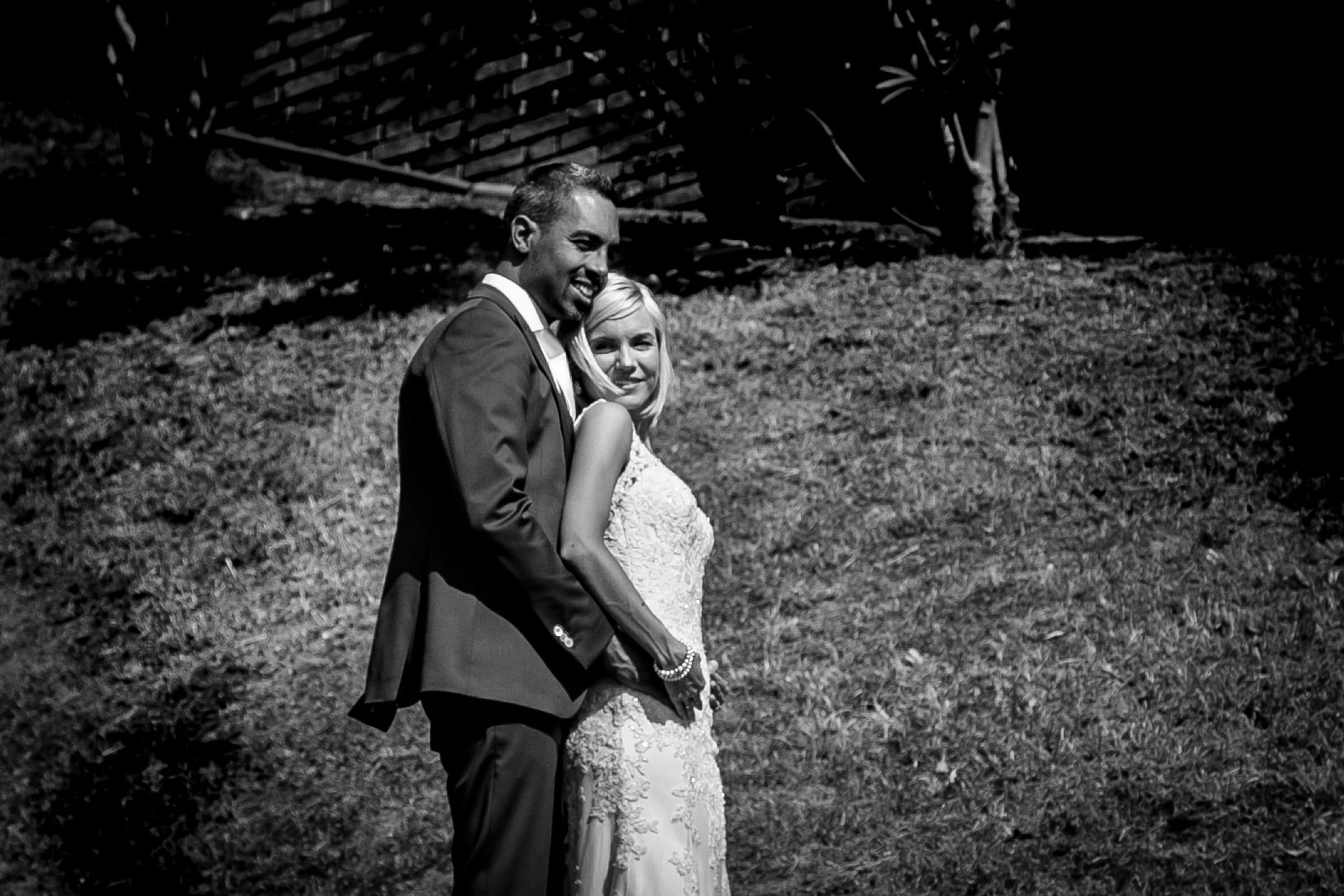 trouwreportage zwartwit