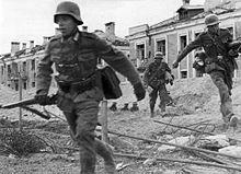 German soldiers in Stalingrad