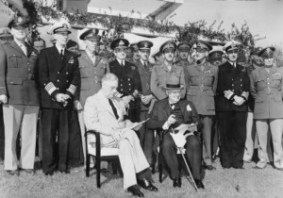 Casablanca Conference, January, 1943