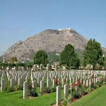 Allied cemetery at Monte Cassino