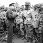 Eisenhower visiting the paratroopers prior to their deployment on D-Day