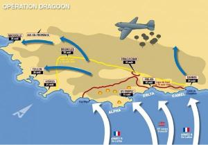 Operation Dragoon Landings