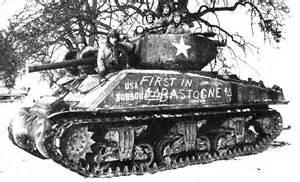 U.S. tank at Bastogne