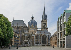 Burial place of Charlemagne, Aachen