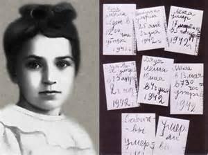Tanya Sanicheva and her diary