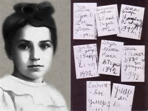 Tanya Sanicheva and her diary