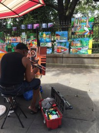 Jackson Square Artist