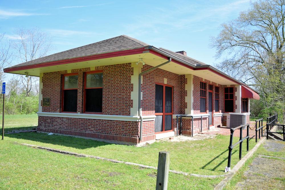 Pocomoke City Train Station – Worcester County, Maryland