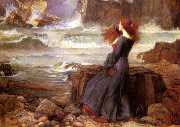 Miranda—The Tempest (1916), John William Waterhouse