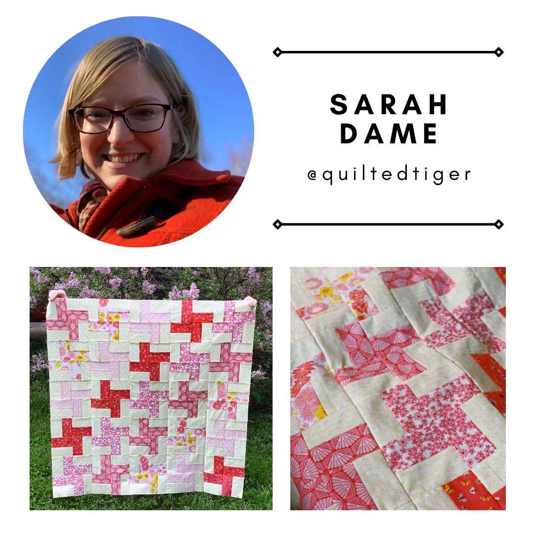 comic relief quilt by sarah dame