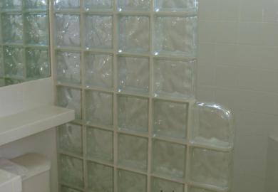 Glass Tile Bathroom Designs