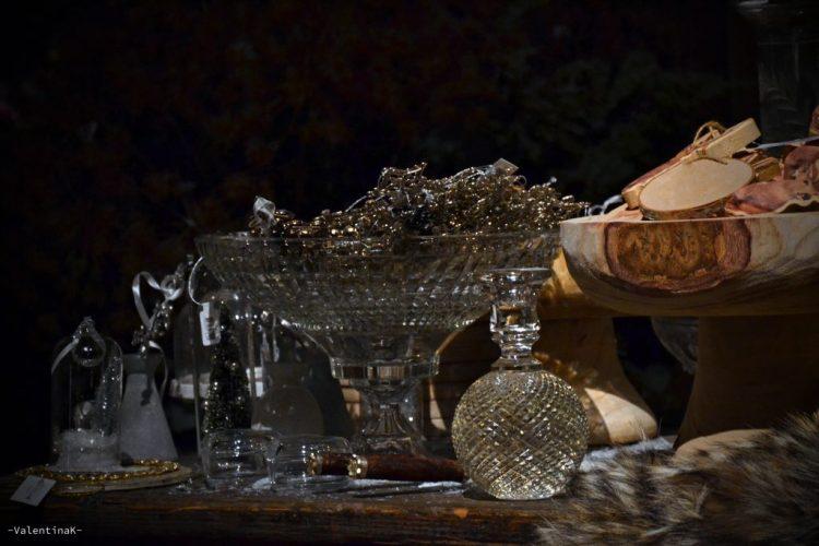 garden bulzaga natale: piatti, brocche, profumi in vetro e oggetti natalizi