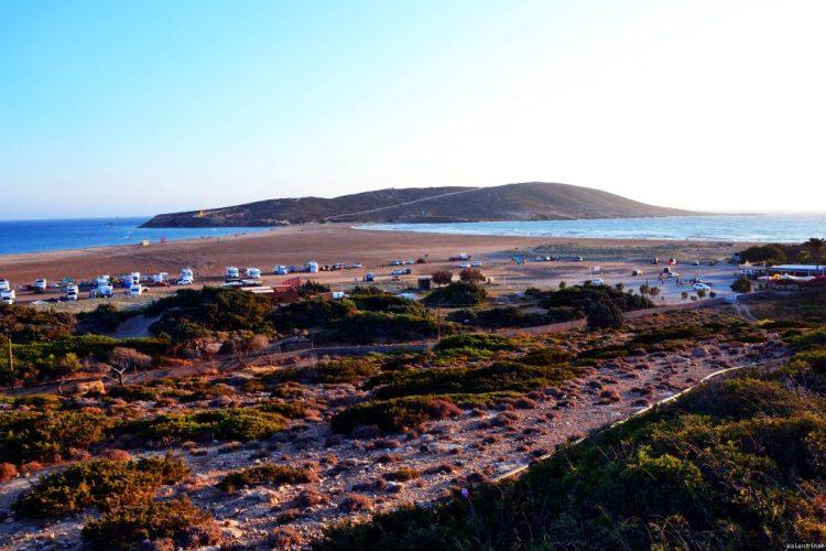 8 spiagge imperdibili sull'isola di Rodi: Prassonissi