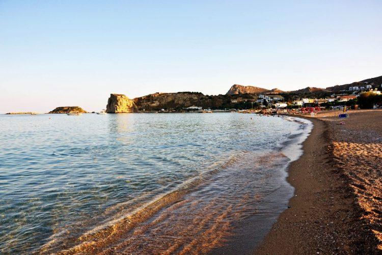 8 spiagge imperdibili sull'isola di rodi: la spiaggia di Stegna
