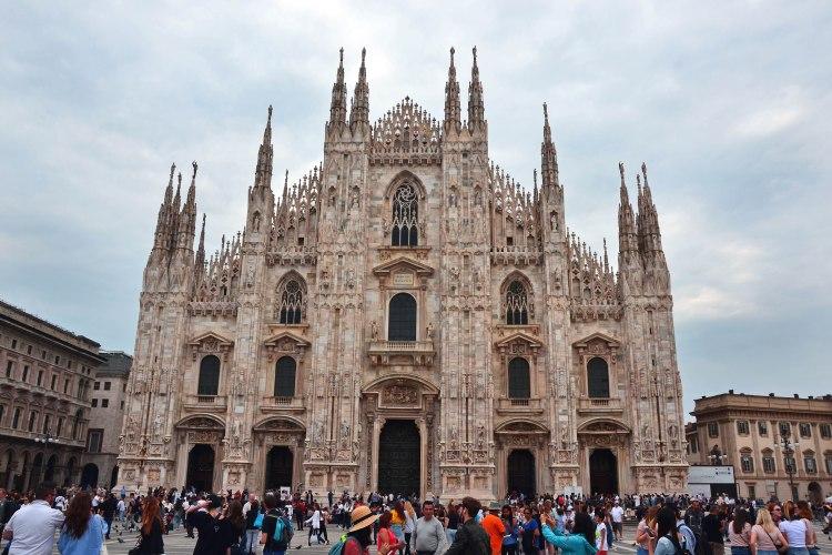 il Duomo di Milano e la sua maestosa facciata