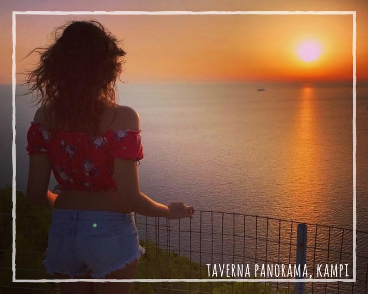 Zacinto. Appunti sparsi dal mio diario di viaggio: ammirare il tramonto a Kampi