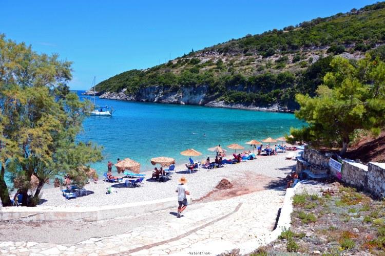 cosa fare a zacinto: spiaggia di Makris Gialos