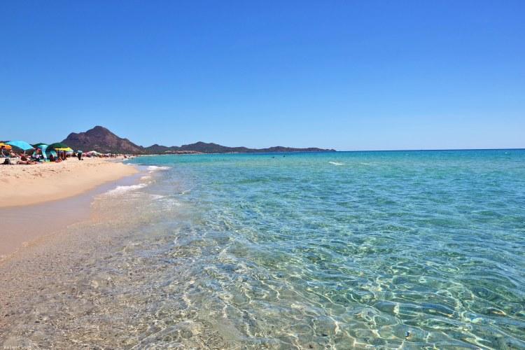 sardegna del sud est spiagge: le acque di cristallo di piscina rei