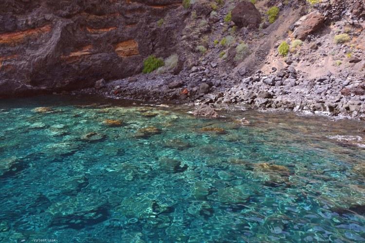 dieci cose che amo di Tenerife: la spiaggia di masca e la sua meravigliosa acqua